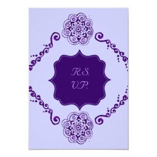 Flor de Lotus (alheña) (púrpura) Anuncio