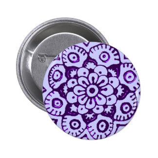 Flor de Lotus alheña púrpura Pins