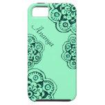 Flor de Lotus (alheña) (trullo) iPhone 5 Case-Mate Protectores