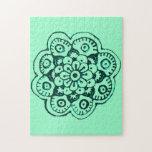 Flor de Lotus (alheña) (trullo) Rompecabezas
