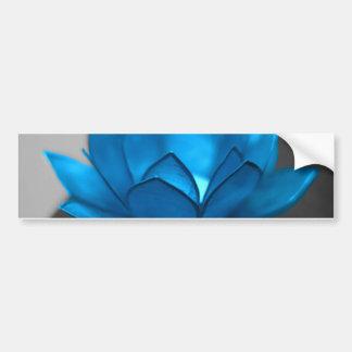 Flor de Lotus azul Pegatina Para Auto