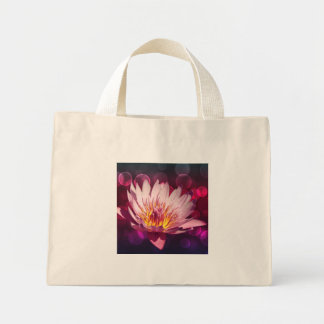 Flor de Lotus Bolsa Tela Pequeña