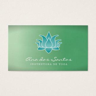 Flor de Lótus Cartão de Visita Business Card