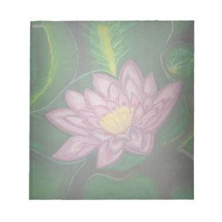 Flor de Lotus (cojín de lirio) Bloc