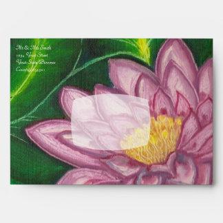 Flor de Lotus (cojín de lirio) Sobres