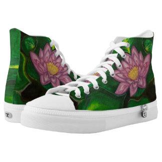 Flor de Lotus (cojín de lirio) Zapatillas