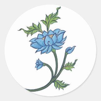 Flor de Lotus de los PEGATINAS