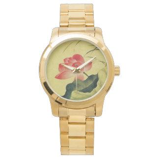 Flor de Lotus del YUN Shouping Reloj De Mano