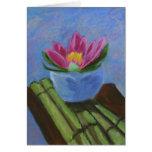 Flor de Lotus Felicitación