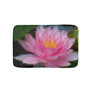 Flor de Lotus floral rosada del lirio de agua