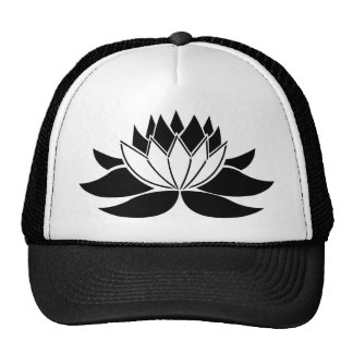Flor de Lotus Gorros Bordados