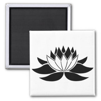 Flor de Lotus Imán De Frigorífico