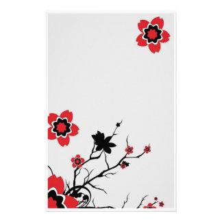 Flor de Lotus inmóvil Papeleria De Diseño