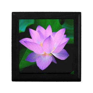 Flor de Lotus Joyero Cuadrado Pequeño