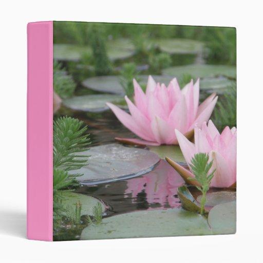 """Flor de Lotus/lirio de agua Carpeta 1"""""""