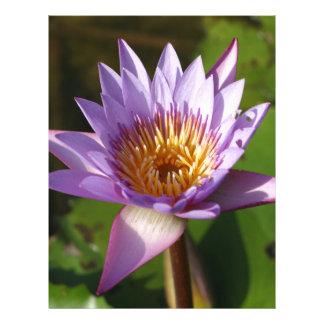 Flor de Lotus Membrete