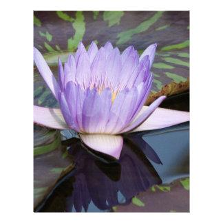 Flor de Lotus Plantilla De Membrete