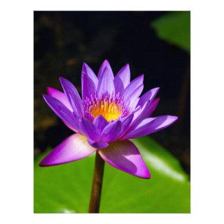Flor de Lotus Membretes Personalizados