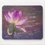 Flor de Lotus Mousepad Alfombrillas De Ratones
