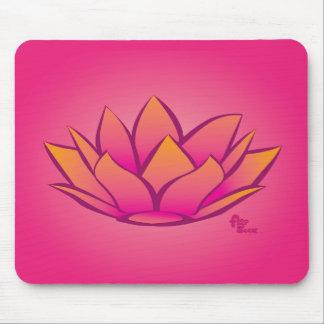 Flor de Lotus Mousepad Tapetes De Raton