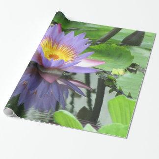 Flor de Lotus Papel De Regalo