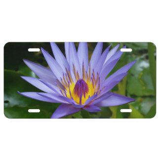 Flor de Lotus Placa De Matrícula