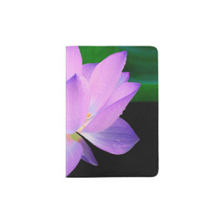 Flor de Lotus Porta Pasaporte