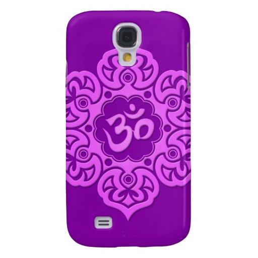 Flor de Lotus púrpura OM