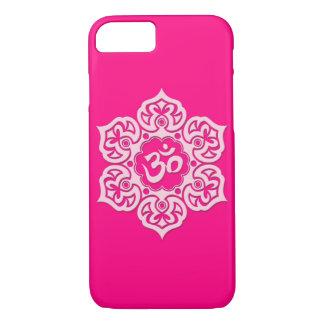 Flor de Lotus rosada OM Funda iPhone 7