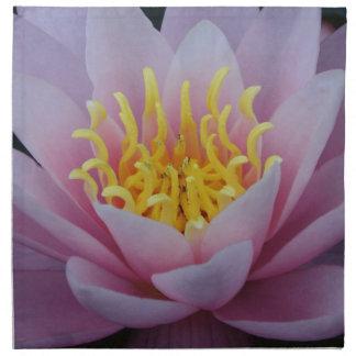 Flor de Lotus Servilletas Imprimidas