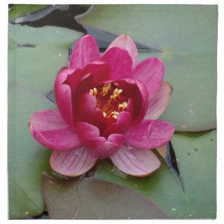 Flor de Lotus Servilleta De Papel