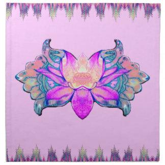 Flor de Lotus Servilletas