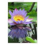 Flor de Lotus Tarjeta De Felicitación