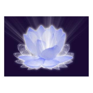 Flor de Lotus Tarjetas De Visita Grandes