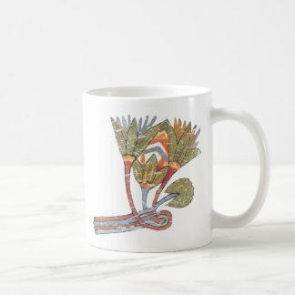 Flor de Lotus Taza De Café