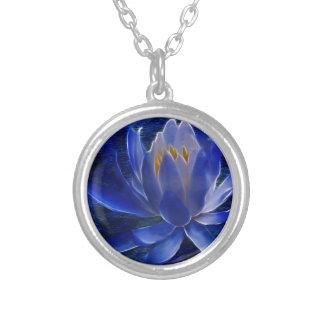 Flor de Lotus y su significado Colgante Redondo