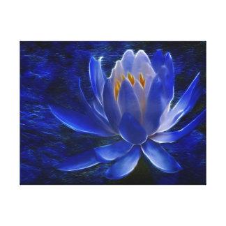 Flor de Lotus y su significado Impresión En Lienzo