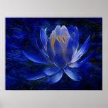 Flor de Lotus y su significado Póster