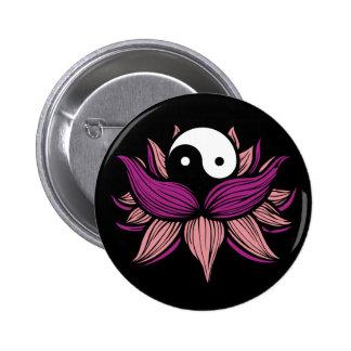 Flor de Lotus y Yin Yang Pins