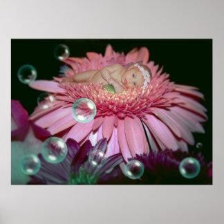 Flor de medianoche - impresión póster