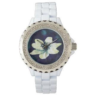 Flor de medianoche relojes de mano