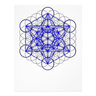 Flor de Metatron Membrete A Diseño