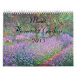 Flor de Monet y calendario de los jardines 2015