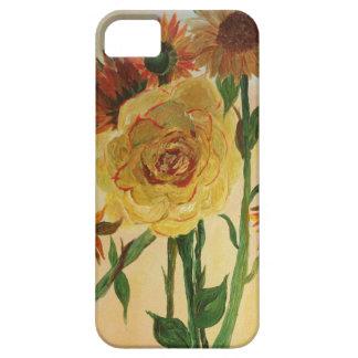 Flor de muchos colores iPhone 5 Case-Mate fundas