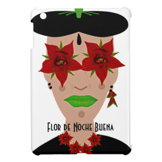 Flor de Noche Buena, Christmas Eve Flower Cover For The iPad Mini