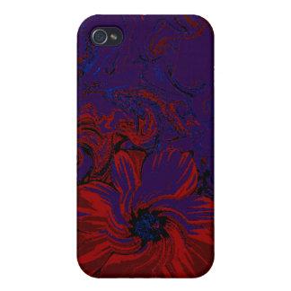 Flor de noche iPhone 4 coberturas