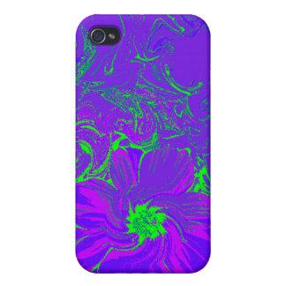 Flor de noche iPhone 4 funda