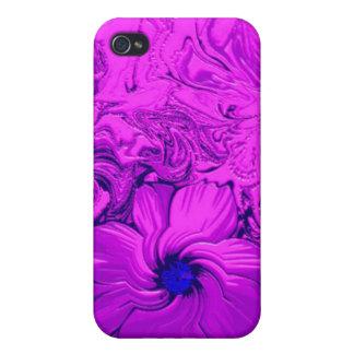 Flor de noche iPhone 4 protectores