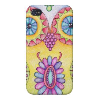 "Flor de ""Owlushka"" iPhone 4/4S Carcasa"