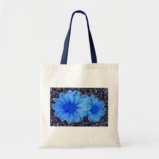 Flor de pared bolsas de mano